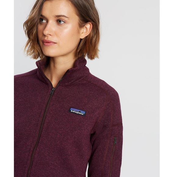 Patagonia Jackets & Blazers - NWT Patagonia Better Sweater Jacket Dark Currant
